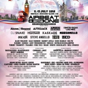"Musikermagazin - AIRBEAT ONE Dance Festival 2018 ""Great Britain"" - Internationale High-Class-DJs, futuristische Technik und eine der größten Festivalbühnen Europas"