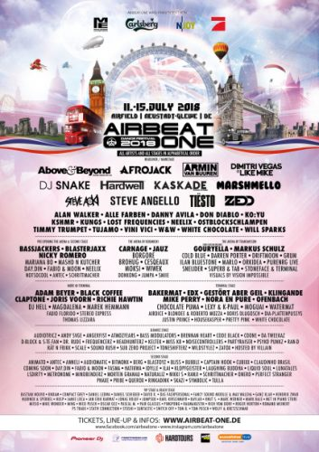 Airbeat One 2018_Full Line Up Banner