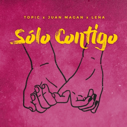 Solo Contigo Single Artwork