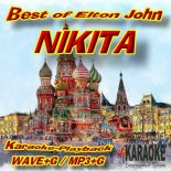 Nikita - im Stil von Elton John - Karaoke-Version als Wave/MP3+G