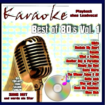 Best auf 80er - Karaoke - Playbacks -
