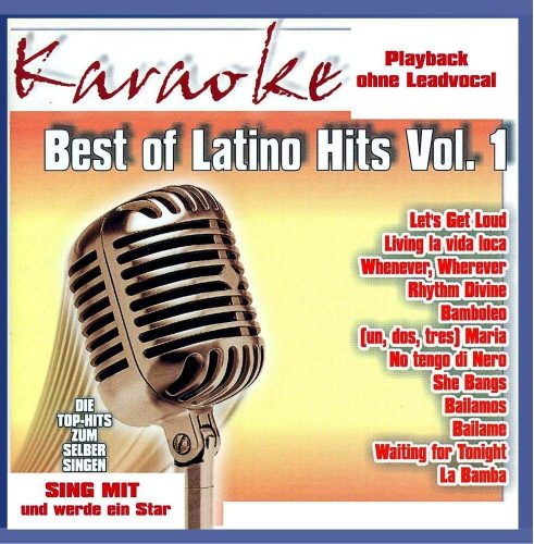Best of Latino Karaoke - Vol.1