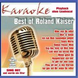 Best of Roland Kaiser - Karaoke - Playbacks - Rarität