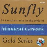 Sunfly Karaoke Gold - Musical Greats - Playbacks - GD-046