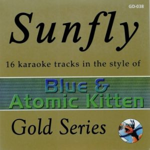 Sunfly Gold Series 038- Blue & Atomic Kitten