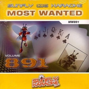 Sunfly Karaoke Most Wanted Volume 891
