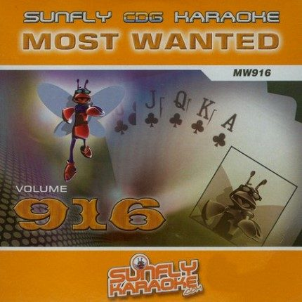 Sunfly Karaoke Most Wanted Volume 916