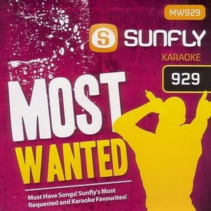 Sunfly Karaoke Most Wanted Volume 929