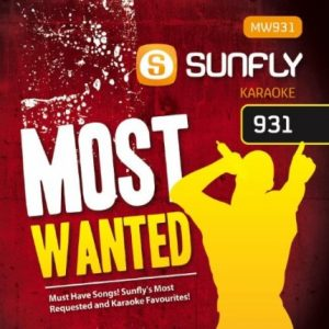 Sunfly Karaoke Most Wanted Volume 931