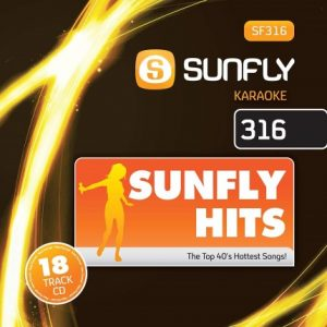 Sunfly Karaoke - SF316 - Top 40 Hits -