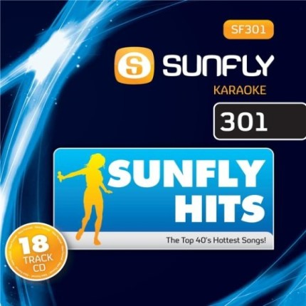 Sunfly Karaoke - Top 40 Songs - SF301 - Front