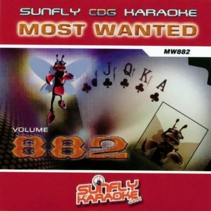 Sunfly Most Wanted 882 - Karaoke Playbacks