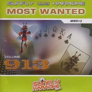 Sunfly Most Wanted 913 - CD+G