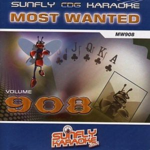 Sunfly most wanted 908 - Karaoke CD+G - Playbacks