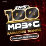 Zoom Karaoke MP3+G Disc - 100 Songs - Christmas & Piano Singalong