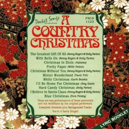 A Country Christmas – Karaoke Playbacks - PSCDG1123 - Frontseite