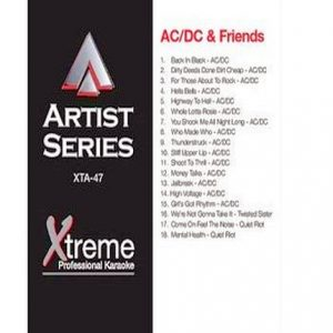 AC-DC & FRIENDS - xta47 - Karaoke Playbacks