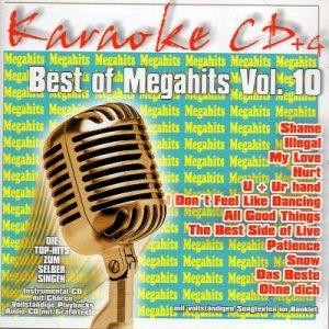 Best Of Megahits Vol. 10 - Karaoke Playbacks - CD+G