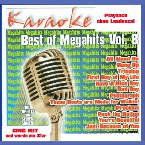 Best Of Megahits Vol.8 CD+G - Karaoke Playbacks - Front