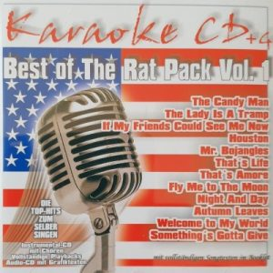 Best Of The Rat Pack Vol. 1 – Karaoke Playbacks – CD+G