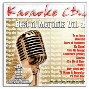 Best of Megahits Vol. 2 - Karaoke Playbacks - CD+G