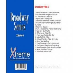 Broadway Hits 5 - Karaoke Playbacks - Xtreme-Karaoke