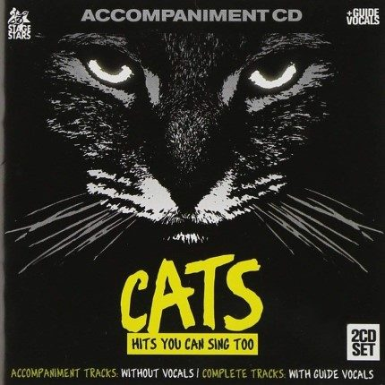 Broadway Musical CATS Accompaniment Set - Frontseite CD