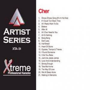 CHER - Karaoke Playbacks - xta-31