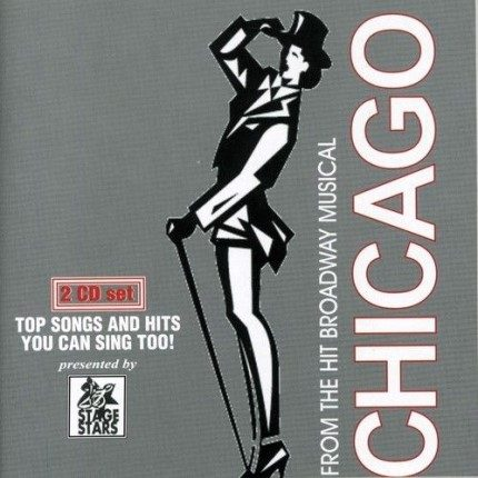 Chicago - From the Hit Broadway Musical - Karaoke - Front