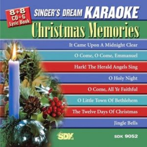 Christmas Memories - Singer-s Dream - SDK 9052 - Karaoke Playbacks - Front