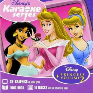 Disney's Series - Princess Vol. 2 - Karaoke Playbacks - CD+G - Front