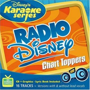 Disney's Series - Radio Disney Chart Toppers - Karaoke Playbacks - CD+G