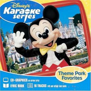 Disney's Series - Theme Park Favorites - Karaoke Playbacks - CD+G
