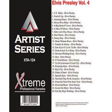 ELVIS PRESLEY VOL. 4 - XTA124 - Karaoke Playbacks
