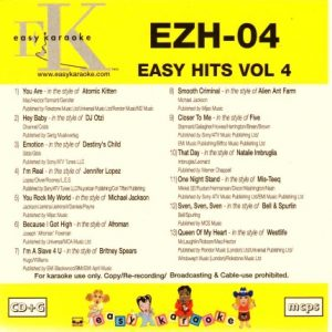 Easy Hits Volume 4 - EZH-04 - Playbacks