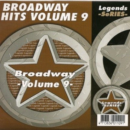 LEGENDS Karaoke CDG BROADWAY SHOWSONGS Vol.9