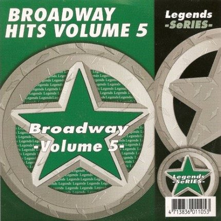 Legends Karaoke Hits Of Broadway Volume 5