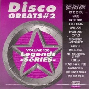 Legends Karaoke Volume 150 - Disco Greats 2
