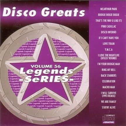 Legends Karaoke Volume 56 - Disco Greats - Playbacks