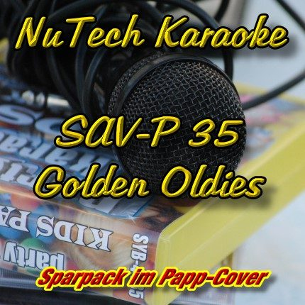 Nutech-P-35-Karaoke- Golden Oldies - CD+G