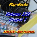 Play-Backs Vol.236 Gospel 1 – Playback Doppel CD