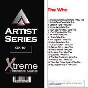 THE WHO - Karaoke Playbacks - xta-101