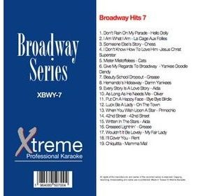 Xtreme Broadway Hits 7 - Karaoke Playbacks