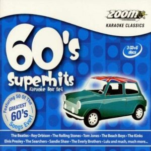 Zoom Karaoke 60s Superhits - 3 CDG Set