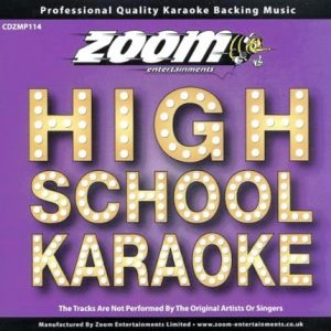 Zoom Karaoke CD+G - Platinum Artists 114 - High School Musical - Front