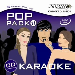 Zoom Karaoke - Pop Pack 11 - Doppel CD+G Set