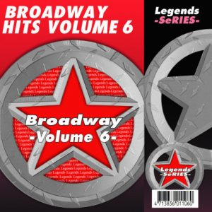 Broadway Hits Vol. 6 Karaoke Disc - Legends Series