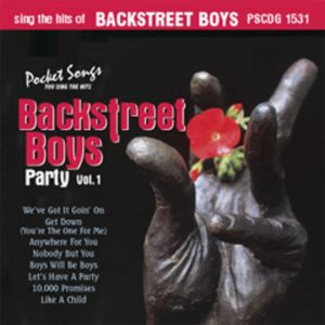 BACKSTREET BOYS PARTY VOL.1 - Karaoke Playbacks - PSCDG 1531