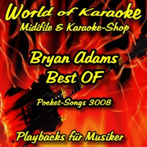 Best Of Bryan Adams - Karaoke Playbacks - PSCD 3008