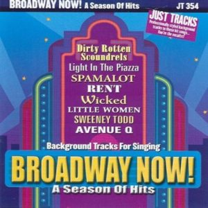 Broadway Now - A Season of Hits - Karaoke Playbacks - JTG 354